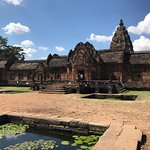 Phanom Rung: Eastern, main entrance to courtyard within.