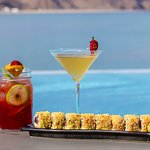 Cocktails and sushi at its best