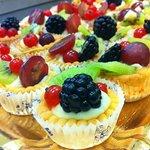 Pasticcini di frutta pronti per essere assaggiati!