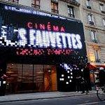 cinéma Gaumont les fauvettes  avenue des Gobelin paris 75013 avec son nouveau design