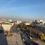 Bild från Sofiakatedralen i Kiev
