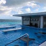 Pool Bar in the smaller pool