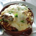 Giouvetsi greek cuisine