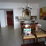 Royal Cancun living area of a 2 bedroom unit.