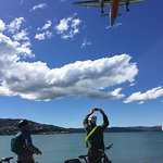 Plane Spotting from a Wellington view spot