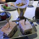 """Club sandwich in """"Distillers"""" bar"""