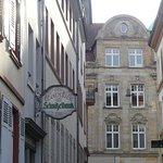 Schnitzelbank Foto
