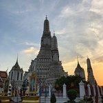 Bild från Gryningstemplet (Wat Arun)