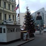 Bild från Checkpoint Charlie
