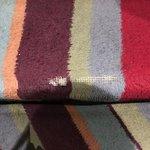 carpets are threadbare
