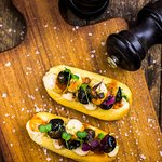 Mini calamari sandwich, Madrid Style