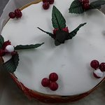 Homemade Christmas cakes