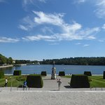 the Palace's lake view