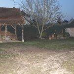 L'intérieur de la ferme de Corcelle - Pour info, il s'agit bien d'une ancienne ferme