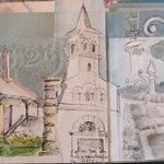 Exemple d'un carnet de voyage : Balade dans Chatenoy le Royal