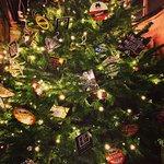Christmas lights at The Rye Waterworks Micropub