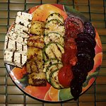 Outstanding grilled vegetables.