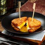 Breakfast Hash Sandwich (Breakfast served from 8 am to 12 pm)