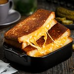 Classic Grilled Cheese Sandwich (Breakfast served from 8 am to 12 pm)