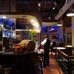 Restaurante bonito y acogedor