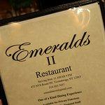 Foto de Emeralds Restaurant