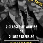 Friday night live music special offer
