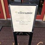 Sign at Barking Frog