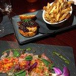 Foie Gras slider, truffle fries and hamachi crudo were horrible