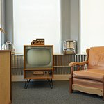 Ask us about this TV set. It's something special.
