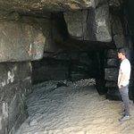 Caves on Long Beach, a geological wonder.