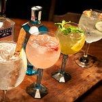 Gin Tônica ( GT Maçã e canela, GT Framboesa, GT chá verde e GT Rosa e pepino)