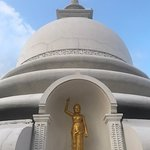 Photo of Japanese Peace Pagoda