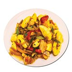 Ackee and Saltfish is served every Saturday
