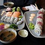 ภาพถ่ายของ Sushi on Fire