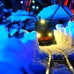 Train in the Night, Special Event. Soar Valley Garden Railway, Sutton Bonington