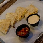 Quesadilla - very good and filling