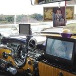 Armaturenbrett des Oldmobiles