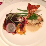 Filet Mignon and Lobster Tail at Le Petit Plaisir