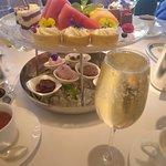 Dessert & champagne