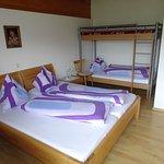 Schlafzimmer Ferienwohnung Gartenblick