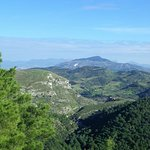 Panorama dal monte Pispisa.