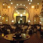 "The famous ""Club 1902"" restaurant"