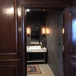 Entry spacious & well-appointed bathroom Commissioner's Suite