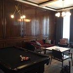 Sitting room Commissioner's Suite.