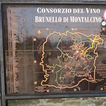 Bilde fra Enoteca La Fortezza di Montalcino