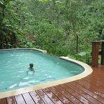Small, unheated pool