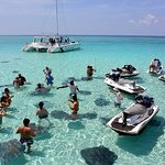 Stingray City and Starfish Beach Jet Ski Tour