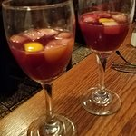 Complimentry sangria when you finish your meal! What a wonderful touch! More restaurants should do this!