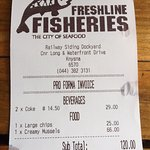 Foto van Freshline Fisheries