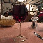 Der Rotwein zum Hauptgericht